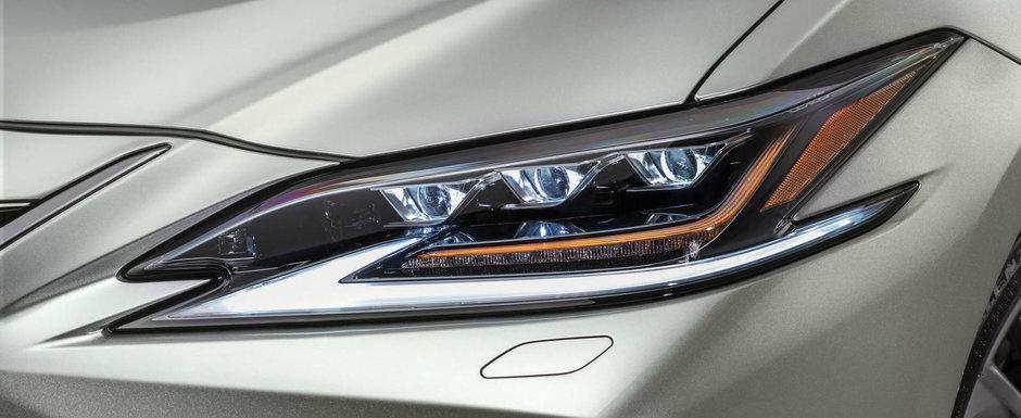 Lexus lanseaza oficial cel mai nou rival pentru Seria 5 si E-Class. Sedanul ES este mai tehnologizat ca oricand