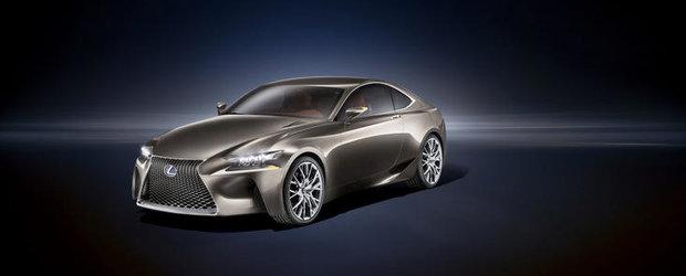 Lexus LF-CC Concept - Japonezii pregatesc asediul Germaniei!