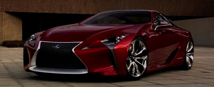 Lexus LF-LC by Five Axis