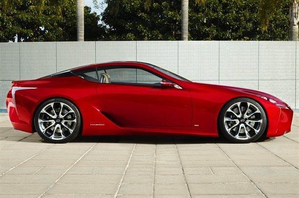Lexus LF-Lc Concept - aproape de productie?
