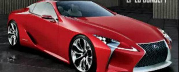 Lexus LF-Lc Concept - Primele imagini!