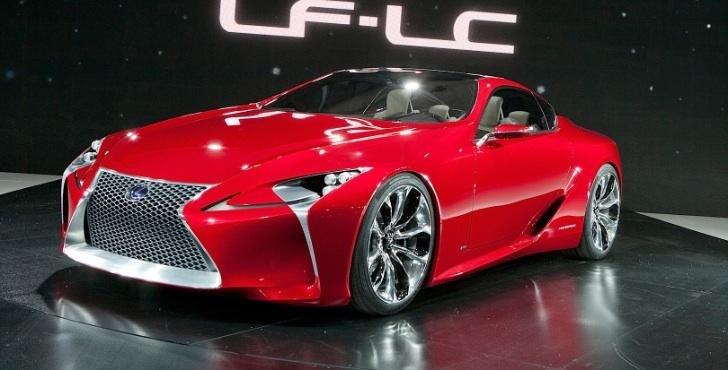 Lexus LF-Lc de serie vine in 2015