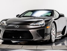 Lexus LFA in Brown Stone