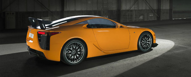 Lexus LFA - Un nou video cu recordul de la Nurburgring