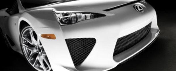 Lexus LFA - V10, 560 CP si 375.000 $