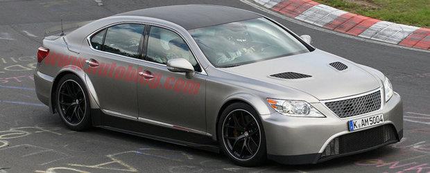 Lexus LS TMG Edition - Super-limuzina de 650 cai putere!