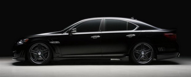 Lexus LS600h by Wald International se lauda cu supranumele  de Godfather