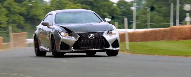 Lexus ne incanta privirile cu o noua portie de RC F Coupe