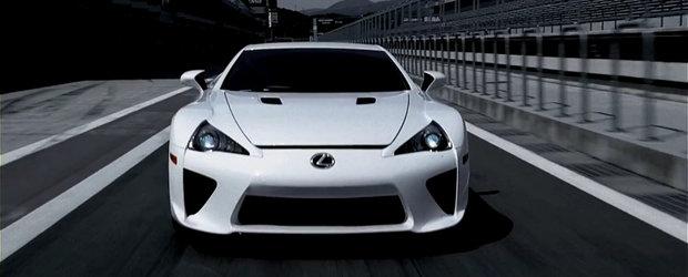 Lexus ne incanta privirile cu o noua reclama incitanta, supercarul LFA este principala atractie