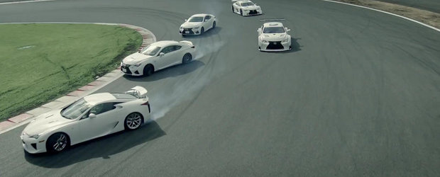 Lexus ne invita la dansul modelelor F Performance
