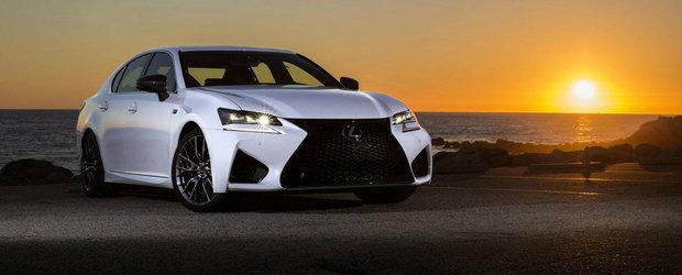 Lexus ne invita sa descoperim noul GS F in peste 80 de imagini proaspete