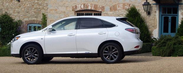 Lexus pregateste un SUV mai mic decat RX