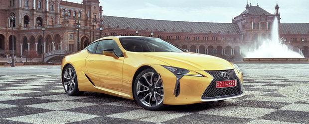 Lexus prezinta cel mai frumos coupe al momentului intr-o galerie foto cuprinzatoare