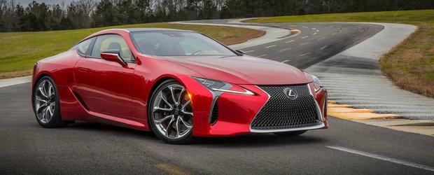 Lexus prezinta noul LC 500. ASTA se intampla atunci cand fanteziile prind viata.