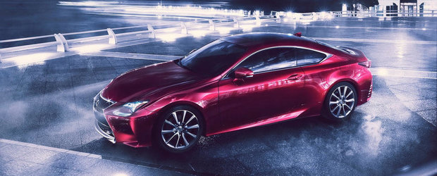 Lexus RC Coupe: Noi imagini cu rivalul bavarezului BMW Seria 4