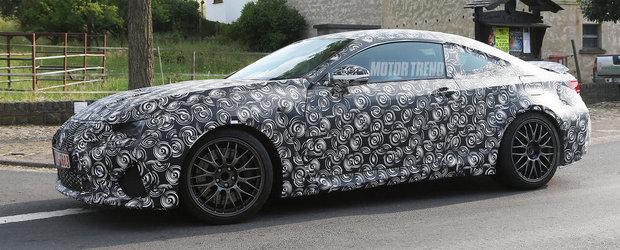 Lexus RC-F Coupe: Cum arata si cum se aude rivalul viitorului BMW M4 Coupe