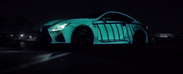 Lexus RC-F Coupe e prima masina din lume cu inima. Metaforic vorbind