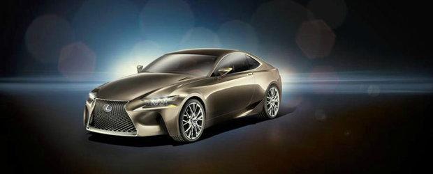 Lexus RC: Tot ce trebuie sa stii despre versiunea coupe a modelului IS