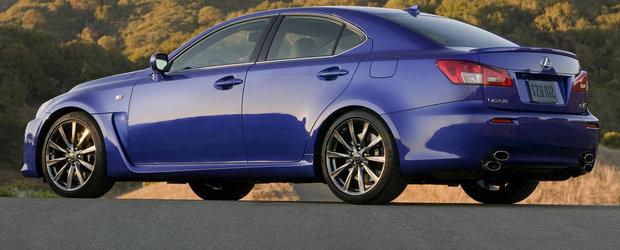 Lexus renunta la modelul IS F