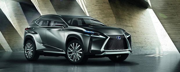 Lexus socheaza industria auto cu noul LF-NX Concept
