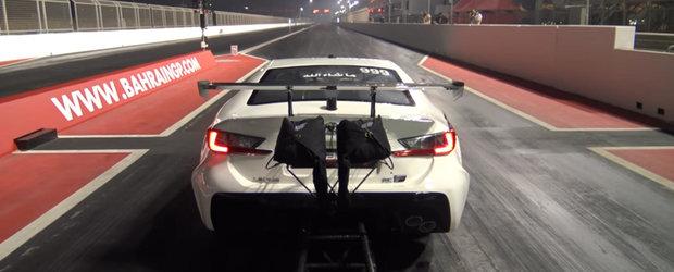 Lexus-ul asta atinge 447 de km/h si face sfertul de mila cat ai clipi