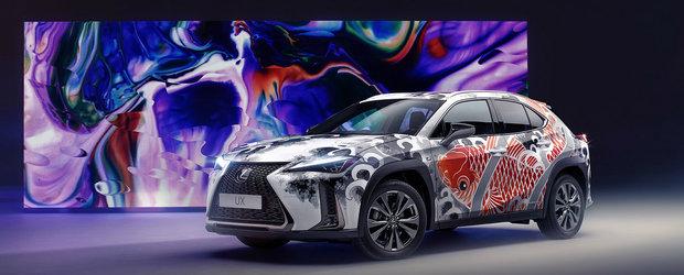 Lexus UX este prima masina TATUATA din lume. Toata aventura a costat peste 145.000 de dolari