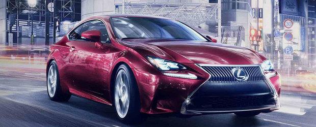 Lexus vine cu un concurent pentru BMW Seria 4 numit RC Coupe