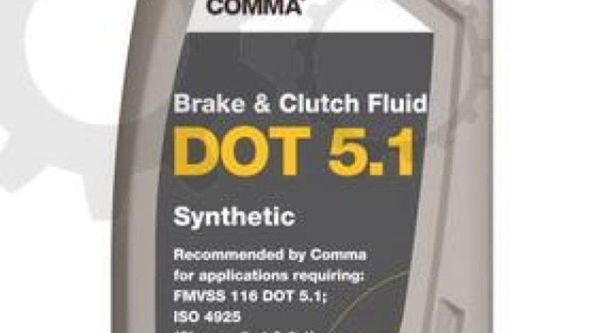 Lichid de frana MERCEDES-BENZ COUPE C124 Producator COMMA DOT 5.1