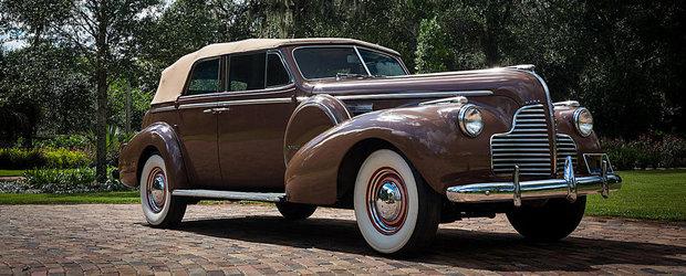 Licitatie pentru Buick-ul Phaeton al lui Humphrey Bogart in Casablanca