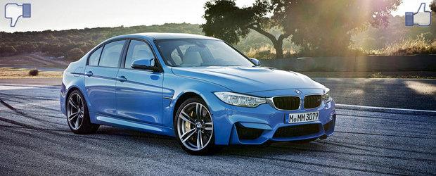 LIKE ori DISLIKE: Dezbatem in detaliu noile BMW M3 Sedan si M4 Coupe