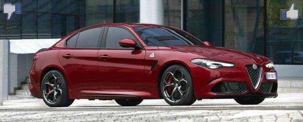 LIKE ori DISLIKE: Dezbatem in detaliu noua Alfa Romeo Giulia