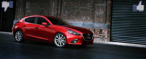 LIKE ori DISLIKE: Dezbatem in detaliu noua Mazda3