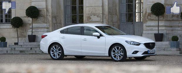LIKE ori DISLIKE: Dezbatem in detaliu noua Mazda6