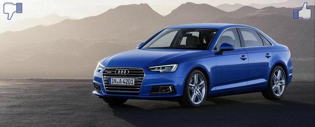 LIKE ori DISLIKE: Dezbatem in detaliu noul Audi A4