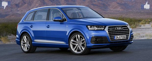 LIKE ori DISLIKE: Dezbatem in detaliu noul Audi Q7