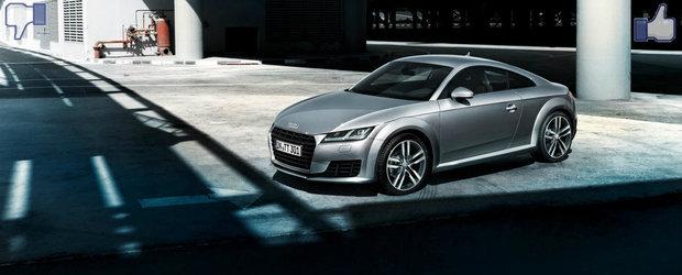 LIKE ori DISLIKE: Dezbatem in detaliu noul Audi TT