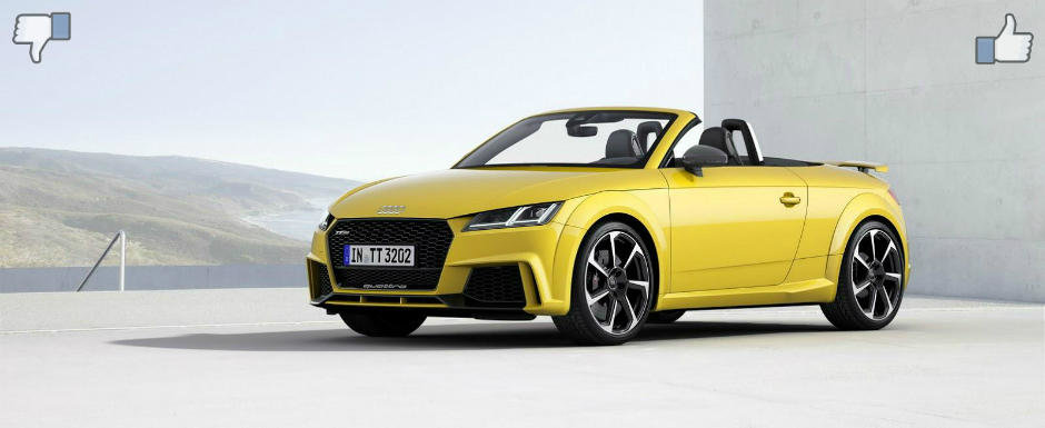 LIKE ori DISLIKE: Dezbatem in detaliu noul Audi TT-RS