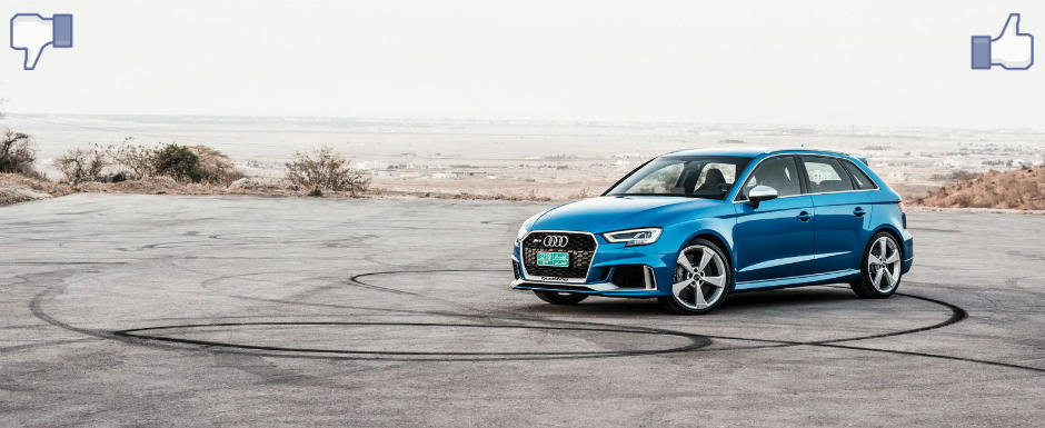 LIKE ori DISLIKE: Dezbatem in detaliu noul Audi RS3 Sportback