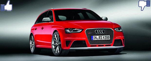 LIKE ori DISLIKE: Dezbatem in detaliu noul Audi RS4 Avant
