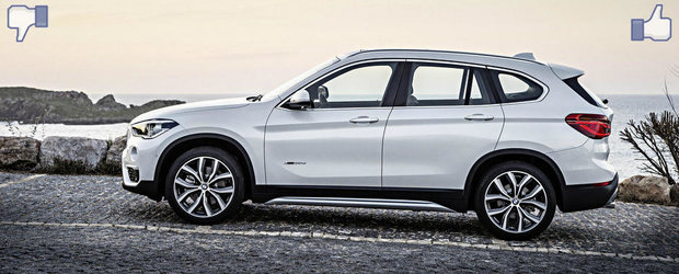 LIKE ori DISLIKE: Dezbatem in detaliu noul BMW X1