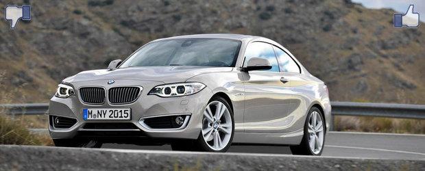 LIKE ori DISLIKE: Dezbatem in detaliu noul BMW Seria 2 Coupe