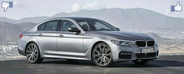 LIKE ori DISLIKE: Dezbatem in detaliu noul BMW Seria 5