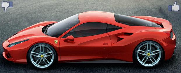 LIKE ori DISLIKE: Dezbatem in detaliu noul Ferrari 488 GTB
