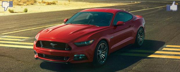 LIKE ori DISLIKE: Dezbatem in detaliu noul Ford Mustang
