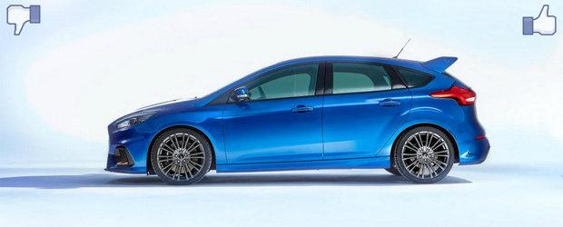 LIKE ori DISLIKE: Dezbatem in detaliu noul Ford Focus RS
