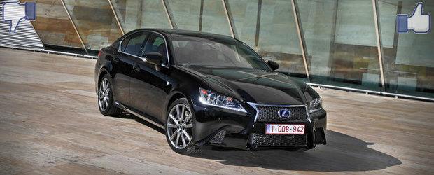 LIKE ori DISLIKE: Dezbatem in detaliu noul Lexus GS