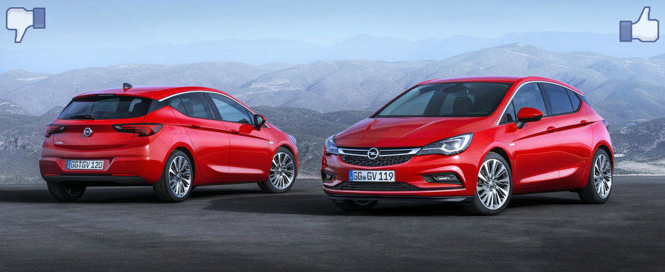 LIKE ori DISLIKE: Dezbatem in detaliu noul Opel Astra
