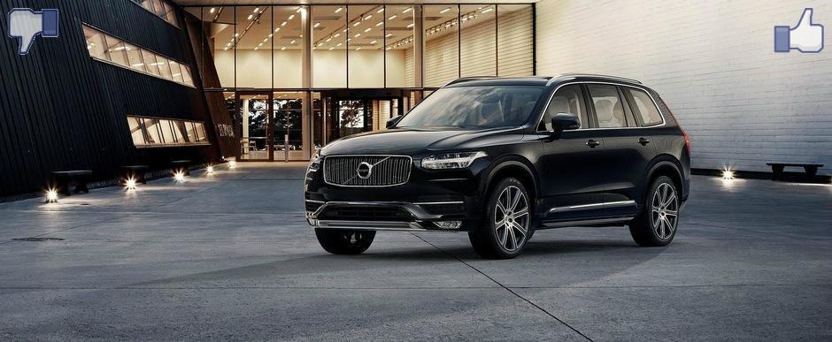 LIKE ori DISLIKE: Dezbatem in detaliu noul Volvo XC90