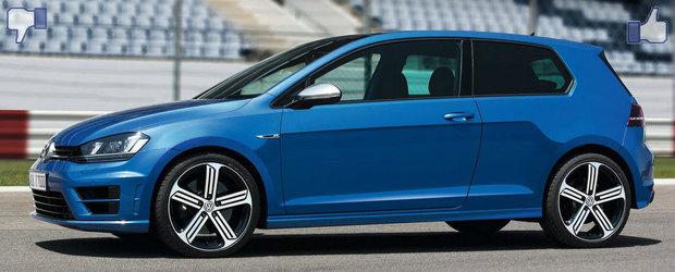 LIKE ori DISLIKE: Dezbatem in detaliu noul VW Golf R