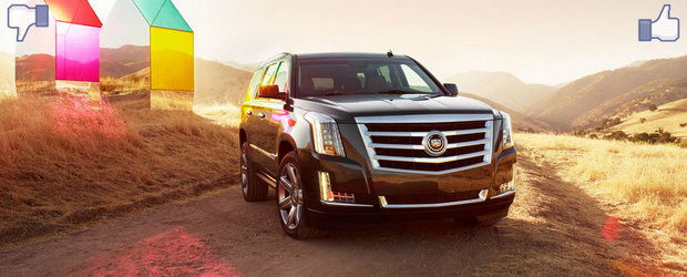 LIKE ori DISLIKE: Dezbatem in detaliu noul Cadillac Escalade